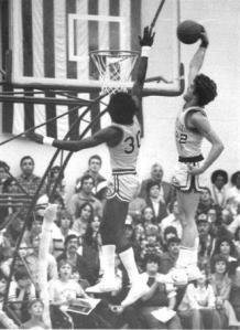 Bill Rieser dunking