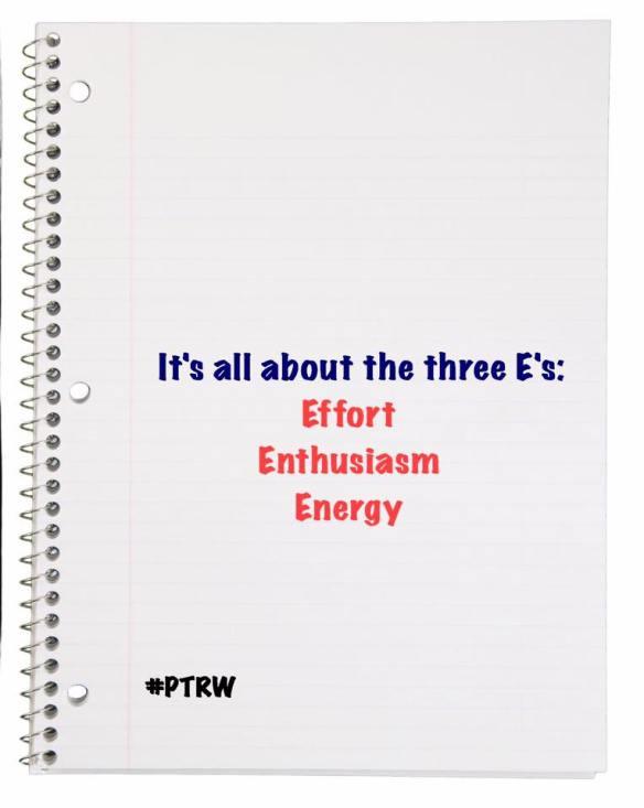 The 3 E's